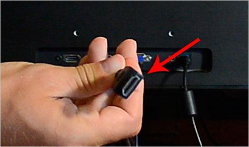 dvi кабель с монитором