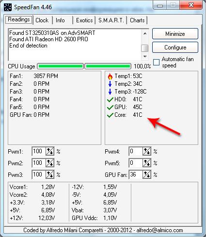 как проверить температуру компьютера - фото 5