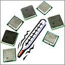 Какой процессор установлен, Как узнать температуру процессора