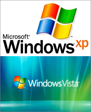Windows XP и Windows Vista