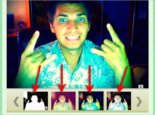 фото с веб камеры онлайн с эффектами