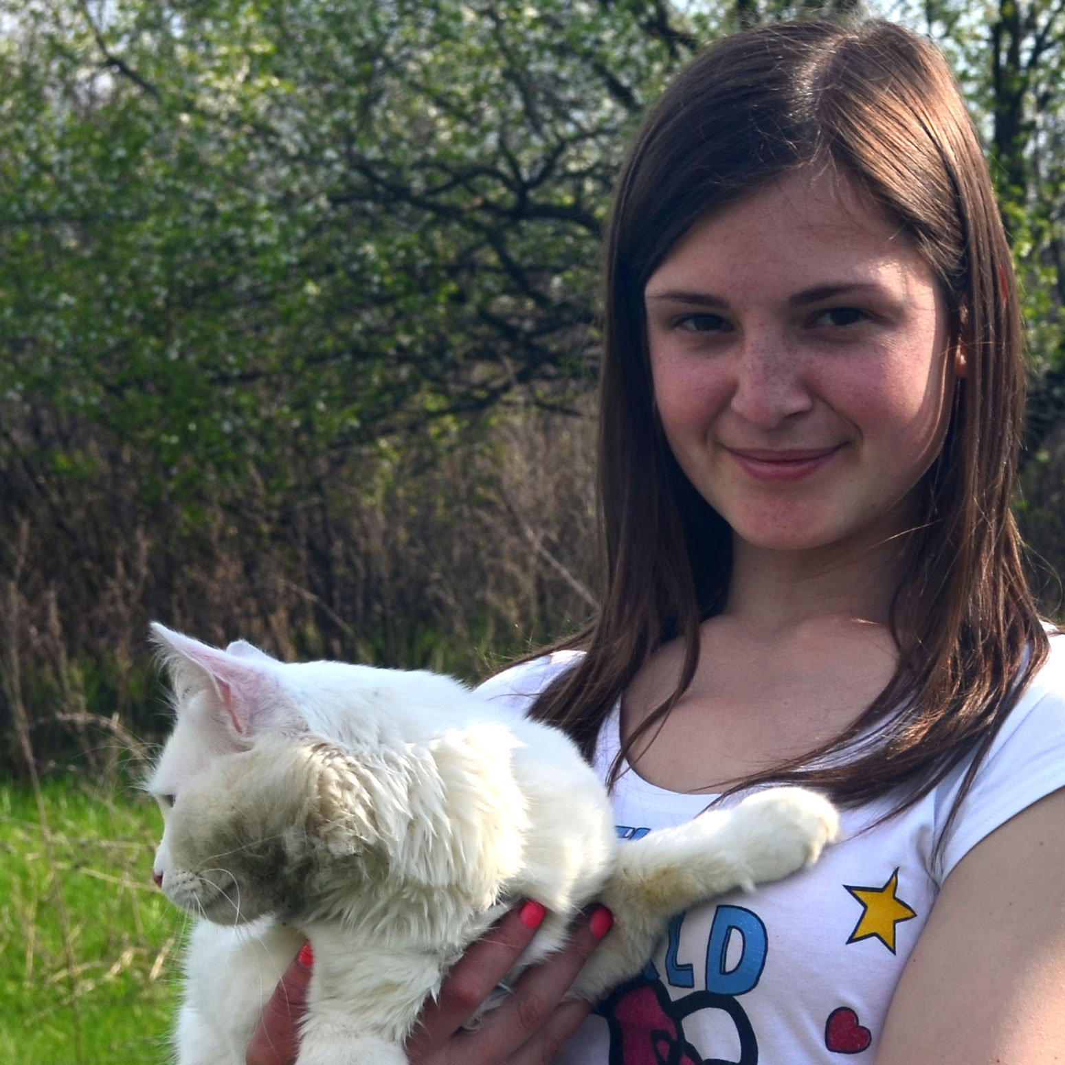 Серёжа и Наташа, обрезать фото в Фотошопе