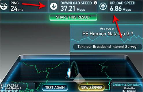 Скачать проверка скорости интернета на компьютере