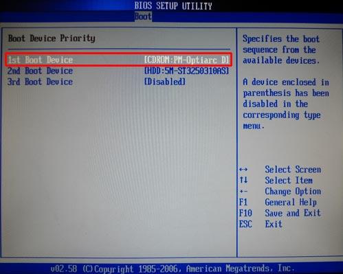 переустановка винды с диска на ноутбук
