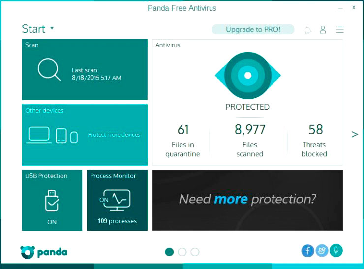 Panda Security Free Antivirus