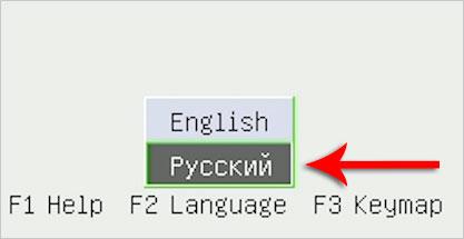 Русский в Dr.Web LiveDisk